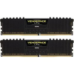 DDR4 32GB (2x16) Corsair 2400MHz LPX Black, CMK32GX4M2A2400C14