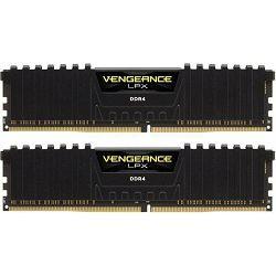 DDR4 32GB (2x16) Corsair 3000MHz LPX Black C16, CMK32GX4M2D3000C16