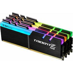 DDR4 32GB (4x8) G.Skill 3200MHz TridentZ RGB Series, F4-3200C14Q-32GTZRX