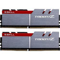 DDR4 32GB (2x16GB) PC4-25600U 3200MHz CL16 G.Skill Trident Z silver/red, F4-3200C16D-32GTZA