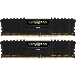 DDR4 32GB (2x16GB) PC4-25600U 3200MHz CL16 Corsair Vengeance LPX black, CMK32GX4M2B3200C16