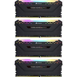 DDR4 32GB (4x8) Corsair 3000MHz LED RGB Pro, CMW32GX4M4C3000C15