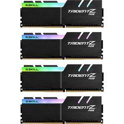 DDR4 32GB (4x8) G.Skill 3000MHz TridentZ RGB Series, F4-3000C14Q-32GTZR