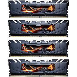 DDR4 32GB (4x8) G.Skill 3000MHz Ripjaws IV, F4-3000C15Q-32GRK