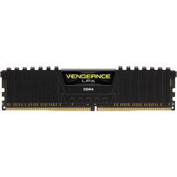 DDR4 8GB (1x8) Corsair 2666MHz LPX Black, CMK8GX4M1A2666C16