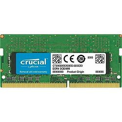 DDR4 8GB (1x8GB) PC4-19200S Crucial 2400 Sodimm For Mac CL17, CT8G4S24AM