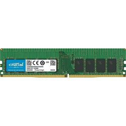 DDR4 8GB (1x8GB) PC4-21300E 2666MHz CL19 Crucial ECC, CT8G4WFD8266
