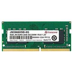 DDR4 8GB (1x8) Transcend 2666MHz sodimm, JM2666HSB-8G