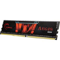 DDR4 8GB (1x8GB) PC4-24000U 3000MHz CL16 G.Skill Aegis, F4-3000C16S-8GISB