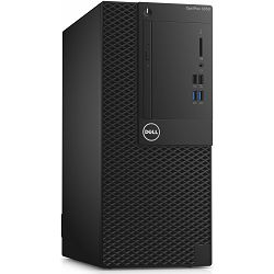 Stolno računalo Dell Optiplex 3050 MT, i3-7100 3.90GHz, 4GB DDR4, 500GB HDD, Intel HD, DVDRW, DOS, 273017793