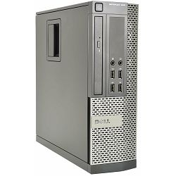 Dell Optiplex 990 SFF, i5-2400 3.10GHz, 4GB DDR3, 250GB HDD, Intel HD, Win 7 Pro, 12 mjeseci jamstvo, rabljeno