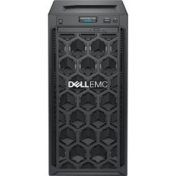 DELL Poweredge T140 MT Xeon E-2126 3.3GHz, 8GB DDR4 ECC 2666MHz (4 slota, max 64GB), 1x1TB SATA 7200 rpm, iDRAC9 Basic, DVD, 1 god