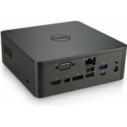 DELL Thunderbolt Dock TB16 with 240W AC Adapter, Black, 452-BCOS
