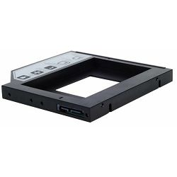 Drive Cabinet SILVERSTONE TS09, 12.7 mm, Slim ODD conversion tray for 2.5