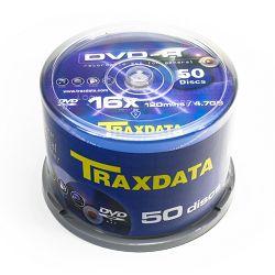 DVD-R medij Traxdata 16x 50 kom