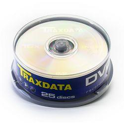 Medij DVD-R 4.7GB, 16x, TRAXDATA, 10 kom, spindle, 9077A3ITRA014