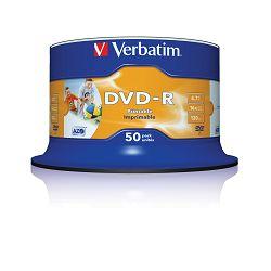 DVD-R medij Verbatim 16x 50prt 43533