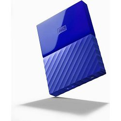WD 1TB My Passport Portable Blue, 2.5