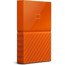 eHDD 1TB WD My Passport Portable Orange, USB 3.0 micro-B, WDBYNN0010BOR-WESN