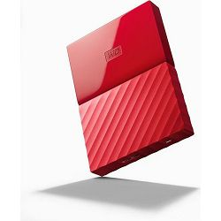 WD 1TB My Passport Portable Red, 2.5