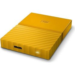 eHDD 1TB WD My Passport Portable Yellow, 3.0 USB, WDBYNN0010BYL
