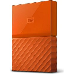 WD 2TB My Passport Portable Orange, 2.5
