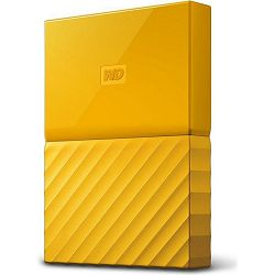 WD 2TB My Passport Portable Yellow,  2.5