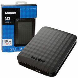eHDD 500GB Maxtor M3 portable, USB 3.0, STSHX-M500TCBM
