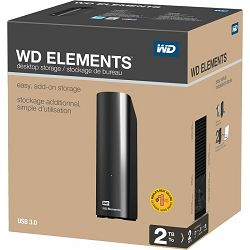 WD 2TB Elements Desktop, 3.5