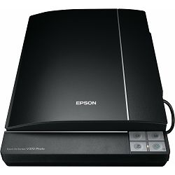 EPSON Perf. V370, A4,with transparency unit and white LED lamp, Automatic Standby, new CD with Epso