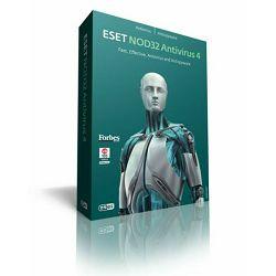 ESET NOD 32 Antivirus 4,antivirusni program za radne stanice, licenca, 1 godina korištenja updatea