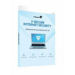 F-SECURE Internet Security - 2year 3user-elektronska licenca