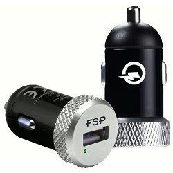 Fortron punjač za auto, Car Shining 16, Qualcomm QC 2.0 spreman, 75% brže punjenje, DC Izlazni napon: 5 V / 2.4A