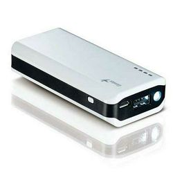Genius ECO-u622, Power Bank + LED, 6000mAh, bijeli