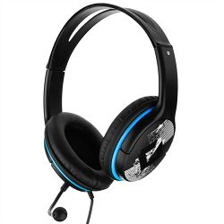 Genius HS-M400a, plave, Dimenzije zvučnika: 40mm , Osjetljivost: 113dB, Duljina kabela: 1.8 m