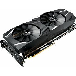 Grafička kartica ASUS Dual GeForce RTX 2080 Ti advanced, DUAL-RTX2080TI-A11G, 11GB GDDR6, 1575/1750MHz, 90YV0C42-M0NM00