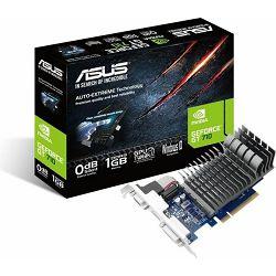 Grafička kartica ASUS GT710 Silent, 710-1-SL, 1GB DDR3, 954MHz/900MHz, 90YV0941-M0NA00
