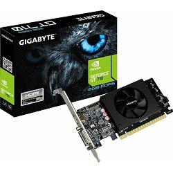 Grafička kartica Gigabyte GT710, 2GB DDR5, 64-bit, 954/1250MHz, GV-N710D5-2GL