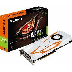 Grafička kartica Gigabyte GTX1080Ti Turbo 11G, 11GB GDDR5X, 352-bit, 1620/1375MHz, GV-N108TTURBO-11GD