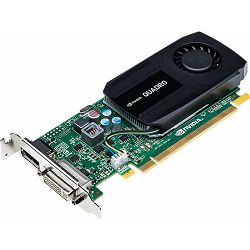 Grafička kartica NVIDIA Quadro K420 2GB DDR3/128-bit, DVI-I, DP 1.2, Single Slot, Cuda Core : 192, VCQK420-2GB-PB