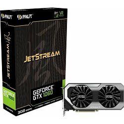 Grafička kartica Palit GTX1060 3G JetStream, 3GB GDDR5, 192-bit, 1708/2000MHz, NE51060015F9J