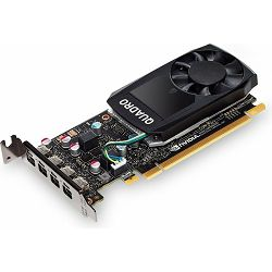 NVIDIA Quadro P600, 2GB GDDR5, 4x mDP, PNY, VCQP600-PB
