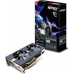 Grafička kartica SAPPHIRE RX580 4G D5 Nitro+, 4GB GDDR5, 256-bit, 1411/1750MHz, 11265-31-20G