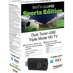 Hauppauge WinTV-dualHD sports Edition, twin tuner, DVB-T/​DVB-T2, 01663