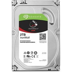 HDD 2TB Seagate Ironwolf NAS, 3.5
