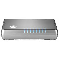 HP 1405-8G v2 Switch (J9794A), 8 RJ-45 autosensing 10/100/1000 ports(IEEE 802.3 Type 10BASE-T, IEEE