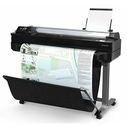 HP DesignJet T120 ePrinter 24'', A1, 24'',Sheet feed, roll feed, input tray, automatic cutter, 256M