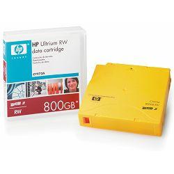 HP LTO-3 800GB C7973A, LTO-3 800GB, Tehnologija LTO/Ultrium, Data Cartridge, Kapacitet (nativni) 40