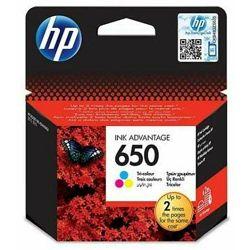 Tinta HP CZ102AE no. 650 Color