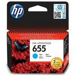Tinta HP CZ110EA no. 655 Cyan